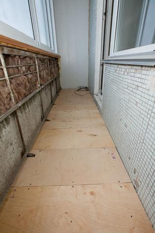 Как сделать полы на лагах на балконе